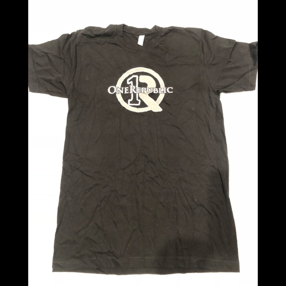American Apparel Other - 🎸 One Republic Black cotton T-shirt M